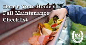 your home's fall maintenance checklist