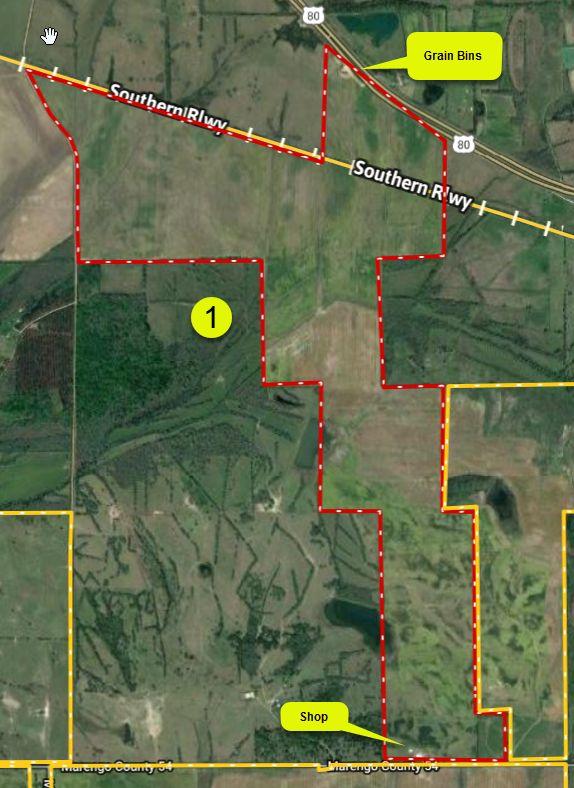 Wendell Farm – Allenville 1115+\- acres